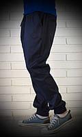 Темно-синие мужские брюки джоггеры