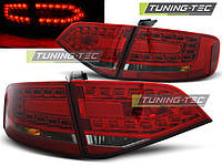 Стопы фонари тюнинг оптика Audi A4 b8 дорестайл