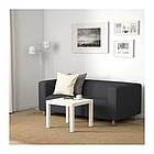 Диван IKEA KLIPPAN 2-местный Kabusa темно-серый 092.517.77, фото 2