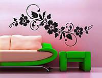 Виниловая интерьерная наклейка -Интерьерный узор на стене 8 (цена за размер 22х60 см)