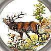 Тарелка декоративная «Олень» Artina SKS, d-23 cм, фото 2