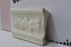 Карниз прямой «Виноград» слоновая кость , фото 2