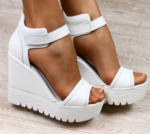Женская кожаная обувь ВЕСНА-ЛЕТО