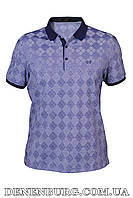 Футболка-поло мужская VIKTORIO 9604 фиолетовая, фото 1