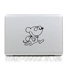 Вінілова наклейка на ноутбук - Мышуля