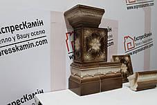 Кут большой «РОМАШКА» коричнево-белая, фото 3