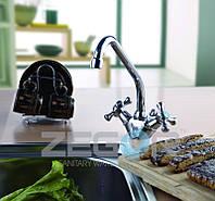 Смеситель для кухни двухвентильный Zegor DAK4-A, фото 1