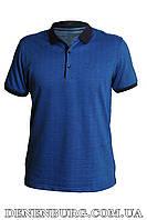 Футболка-поло мужская VIKTORIO 9668 тёмно-синяя, фото 1