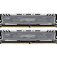 Модуль памяти для компьютера DDR4 16GB (2x8GB) 2400 MHz Ballistix Sport MICRON (BLS2C8G4D240FSB)