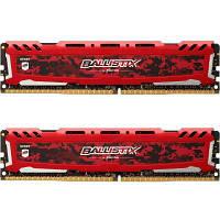 Модуль памяти для компьютера DDR4 16GB (2x8GB) 2666 MHz Ballistix Sport LT MICRON (BLS2C8G4D26BFSEK)