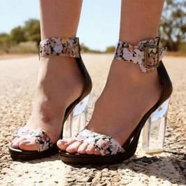 Женская летняя кожаная обувь