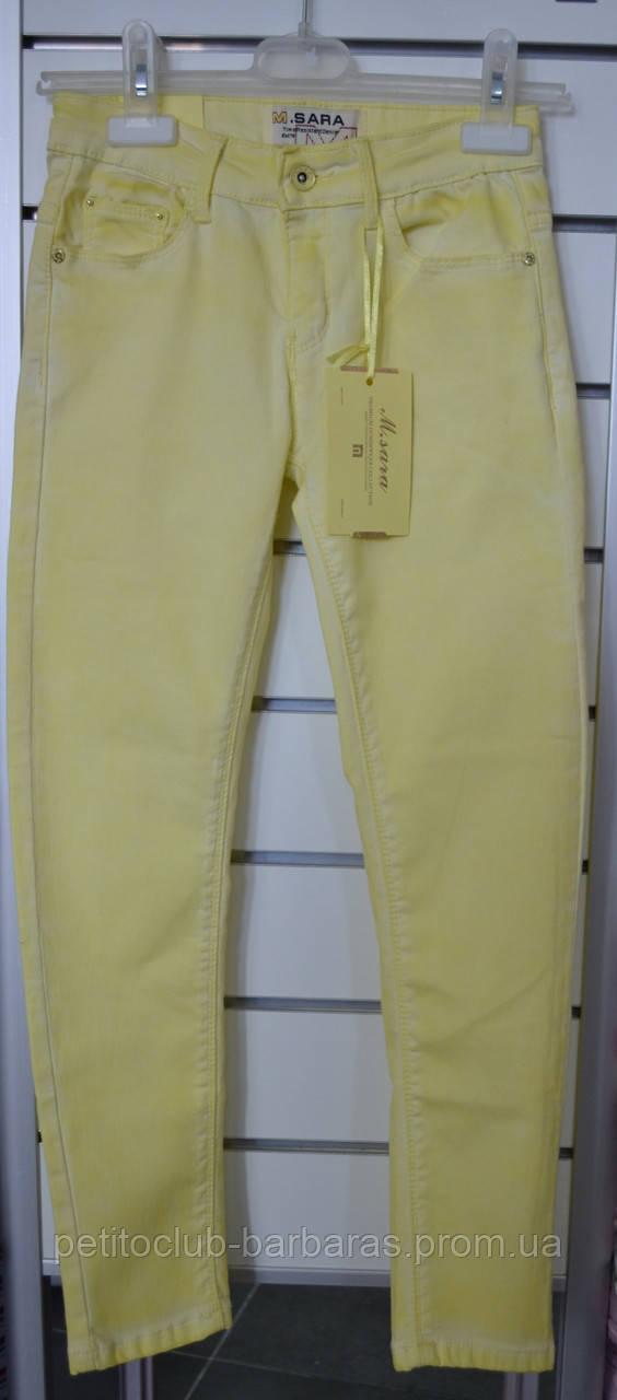 Летние джинсы для девочки (M.SARA, Польша)