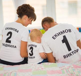 Надписи и номера на футболках в Краматорске