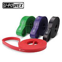 Набор резины для подтягиваний U-Powex 4 шт 7-56 кг Power bands+чехол