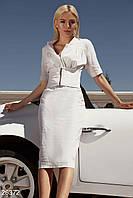 Повседневное летнее платье. Цвет белый.