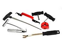 Набор для демонтажа (вырезания) автомобильных стекол 7 элементов GEKO G02700