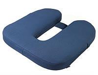 П-образная ортопедическая подушка дл сидение. ДЛЯ ВОДИТЕЛЕЙ. Используется при лечении и профилактики, фото 1
