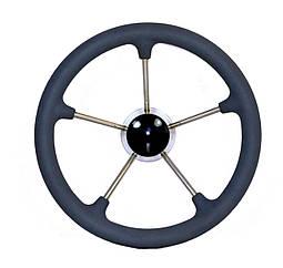 Рулевое колесо 35 см нержавейка