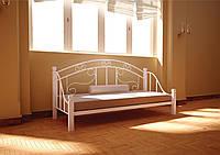 Диван - кровать Орфей белый 80*190 (Металл дизайн)
