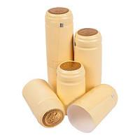 BIOWIN набор термоусадочных пробок (кремовая), 100шт.