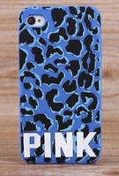 Чехол-накладка PINK Leopard Case for iPhone 5/5S Blue (VS-LPRD-BLUE)