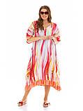 Легкое летнее штапельное платье больших размеров , фото 3