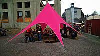 Палатка тент Звезда, 10 метров, цвет Розовый на 20 человек, фото 1