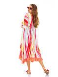 Легкое летнее штапельное платье больших размеров , фото 4