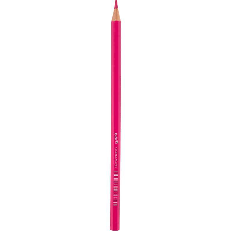 Карандаши цветные Kite, розовый