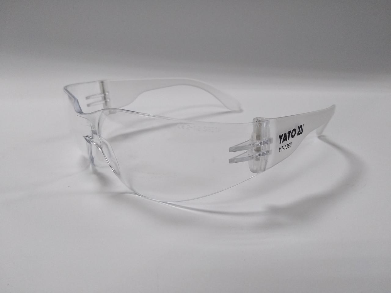 Очки защитные YATO YT-7360