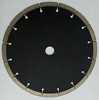 """Алмазный диск """"Afrika"""" для резки, твердого гранита GRANITE Segment 230x2,4/1,9x10/16Sx22 ЧЕРНЫЙ"""