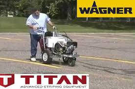 Машины для разметки дорог TITAN PowrLiner 3500