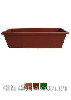 Скринька балкон. L50х14/10 коричневый