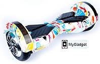"""Гироскутер / Гироборд Smart Balance EL3 - 8"""" Граффити + Сумка, фото 1"""