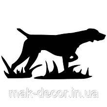 Виниловая наклейка - пес