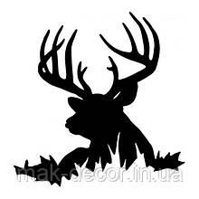 Виниловая наклейка - олень