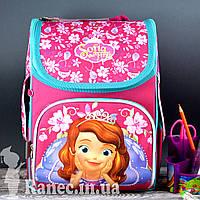 Рюкзак каркасный  1 Вересня 555168 H-11 Sofia rose, 31*26*14