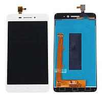 Оригинальный дисплей Lenovo S60 белый (LCD экран, тачскрин, стекло в сборе)