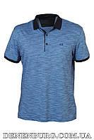 Футболка-поло мужская VIKTORIO 9836 синяя, фото 1