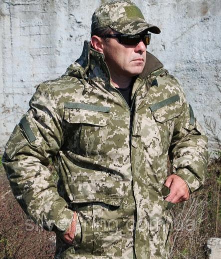Бушлат военно-полевой ВСУ, МТР, Варан синтопон+эвроовчина.