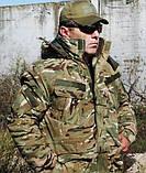 Бушлат военно-полевой ВСУ, МТР, Варан синтопон+эвроовчина., фото 2