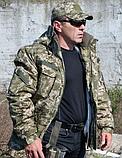 Бушлат военно-полевой ВСУ, МТР, Варан синтопон+эвроовчина., фото 4