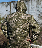Бушлат военно-полевой ВСУ, МТР, Варан синтопон+эвроовчина., фото 5
