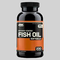 Жирные кислоты Optimum Fish Oil Softgels (200 капс.), фото 1