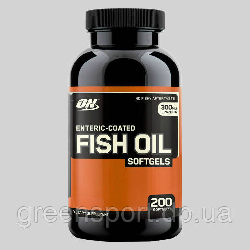 Жирные кислоты Optimum Fish Oil Softgels (200 капс.)