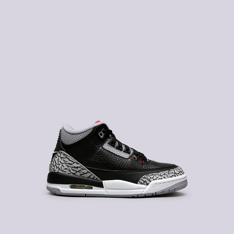 Купить Детские кроссовки NIKE Air Jordan 3 Retro (Артикул  854261 ... 8a826e2f532