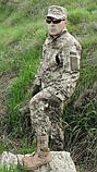 Костюм камуфляжный тактический ВСУ светлый пиксель 65/35, фото 2