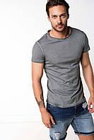 Серая мужская футболка De Facto / Де Факто, фото 1