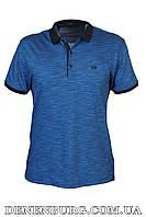 Футболка-поло мужская VIKTORIO 9836 тёмно-синяя, фото 1