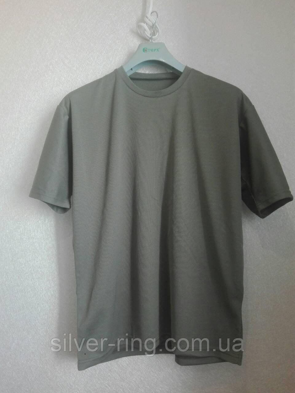 Потоотводящая футболка ВСУ олива (Coolmax)